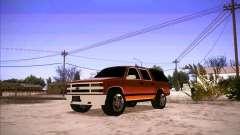 Chevrolet Suburban 1998 pour GTA San Andreas