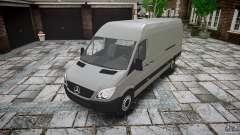 Mercedes Benz Sprinter Long Version für GTA 4