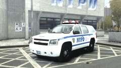 Chevrolet Tahoe NYCPD für GTA 4