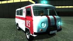 UAZ 3962 ambulance