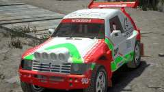 Mitsubishi Pajero Proto Dakar EK86 vinyle 2