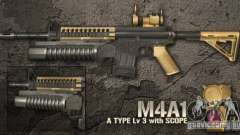 [Point Blank] M4A1 pour GTA San Andreas