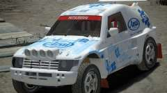 Mitsubishi Pajero Proto Dakar EK86 Vinyl 3