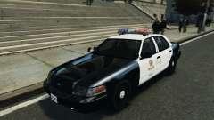 Ford Crown Victoria LAPD für GTA 4