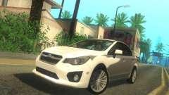 Subaru Impreza Sedan 2012 pour GTA San Andreas