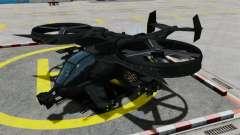 Un hélicoptère de combat Scorpion AT-99 pour GTA 4