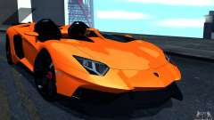 Lamborghini Aventador J pour GTA San Andreas