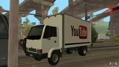 LKW mit Logo-YouTube