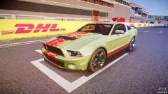 Ford Mustang Shelby GT500 2010 (Final) pour GTA 4