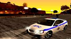 Acura RSX-S Police