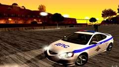 Acura RSX-S Polizei