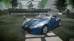 Nissan 370Z Coupe 2010 pour GTA 4