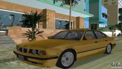 BMW 540i e34 1992 für GTA Vice City
