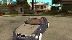 BMW M3 E92 TUNED pour GTA San Andreas