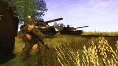 Une peau de soldat russe