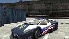 Lamborghini Reventon Police Stinger Version