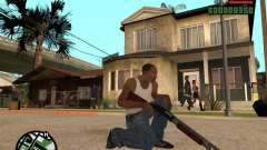 Chromegun HD für GTA San Andreas
