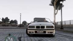 BMW M3 e36 1997 Cabriolet pour GTA 4