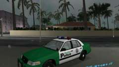 Ford Crown Victoria 2003 Police pour GTA Vice City