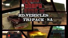 GTA3 HD Vehicles Tri-Pack III v.1.1 für GTA San Andreas