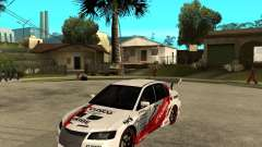 Lancer Evolution VIII, les Américains sont intervenus pour GTA San Andreas