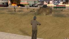 La menace de pour GTA San Andreas