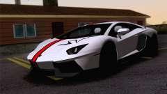 Travaux de peinture Lamborghini Aventador LP700-4 pour GTA San Andreas