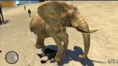 Éléphant pour GTA 4