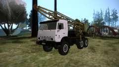 KAMAZ 43118 rig