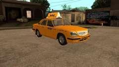 GAZ 31105 Volga Taxi
