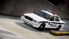 Ford Crown Victoria FBI Police 2003 pour GTA 4
