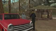 Bei einem Besuch in Oma für GTA San Andreas