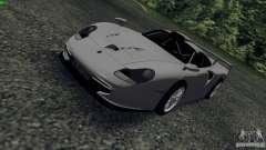 Porsche 911 GT1 Evolution Strassen Version 1997 pour GTA San Andreas
