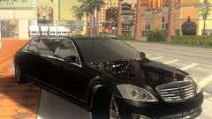 Mercedes-Benz Pullman (w221) SE für GTA San Andreas