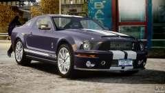 Shelby GT500KR 2008 für GTA 4