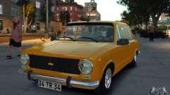 Fiat 124 für GTA 4