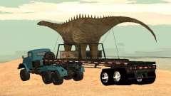 Trailer de dinosaure