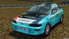 Subaru Impreza WRX STI 1995 Rally version pour GTA 4