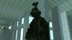 Le troisième soldat de la peau de Cod MW 2