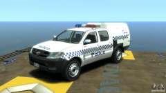 Toyota Hilux Australian Police ELS