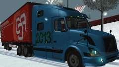 Volvo VNL 670-trailer