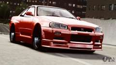 Nissan Skyline GT-R (R34) Stance