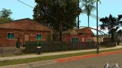 Nouvelles textures de maisons sur la rue Grove