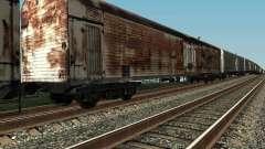 Refrežiratornyj wagon Dessau no 4 Rusty