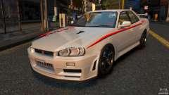 Nissan Skyline ER34 Nismo Z Tune pour GTA 4