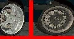 Räder für LADA 2114 für GTA San Andreas