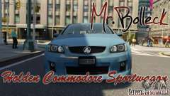 Holden VE Commodore Sportwagon SS 2009 für GTA 4