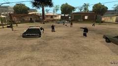 Sur la rue Grove a été attaquée par les Ballas