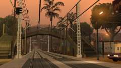 Haute vitesse de la ligne de chemin de fer