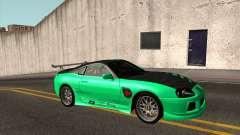 Toyota Supra ZIP style pour GTA San Andreas